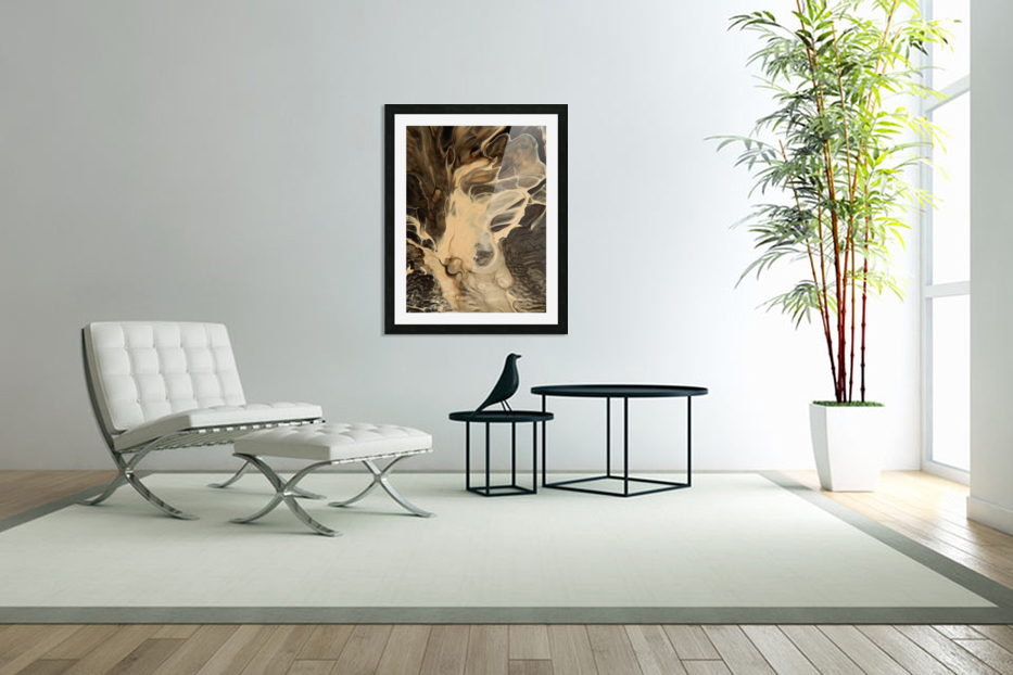 SMOKE ON WATER in Custom Picture Frame