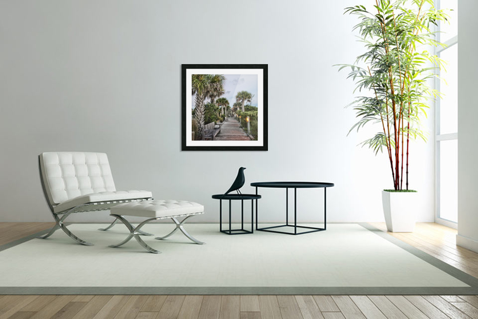 Sit N Relax in Custom Picture Frame