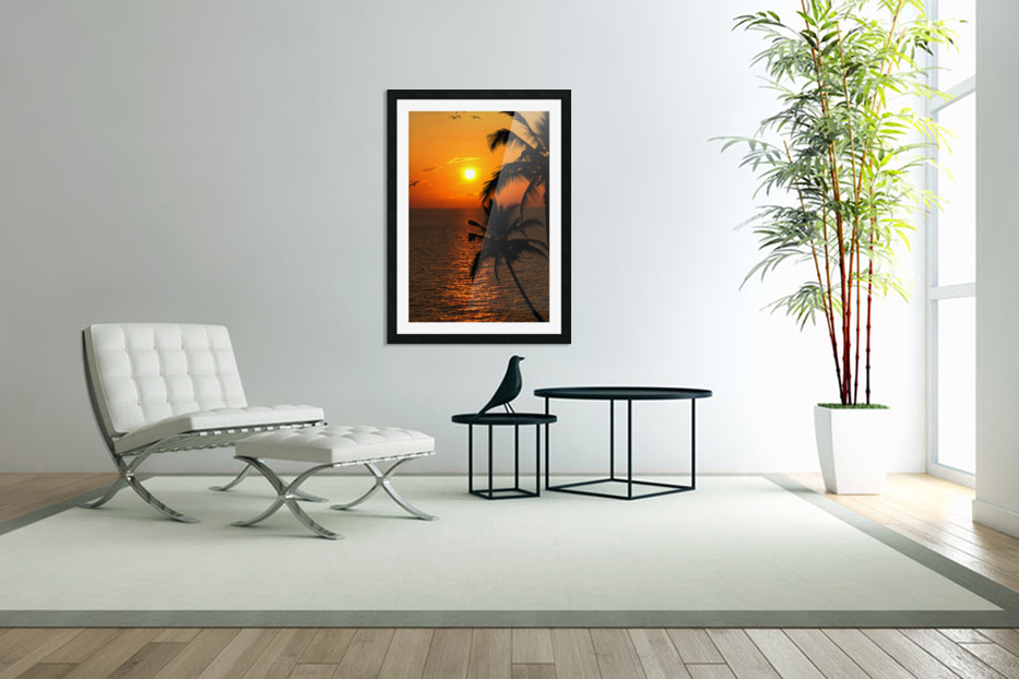 Unknown Paradise in Custom Picture Frame