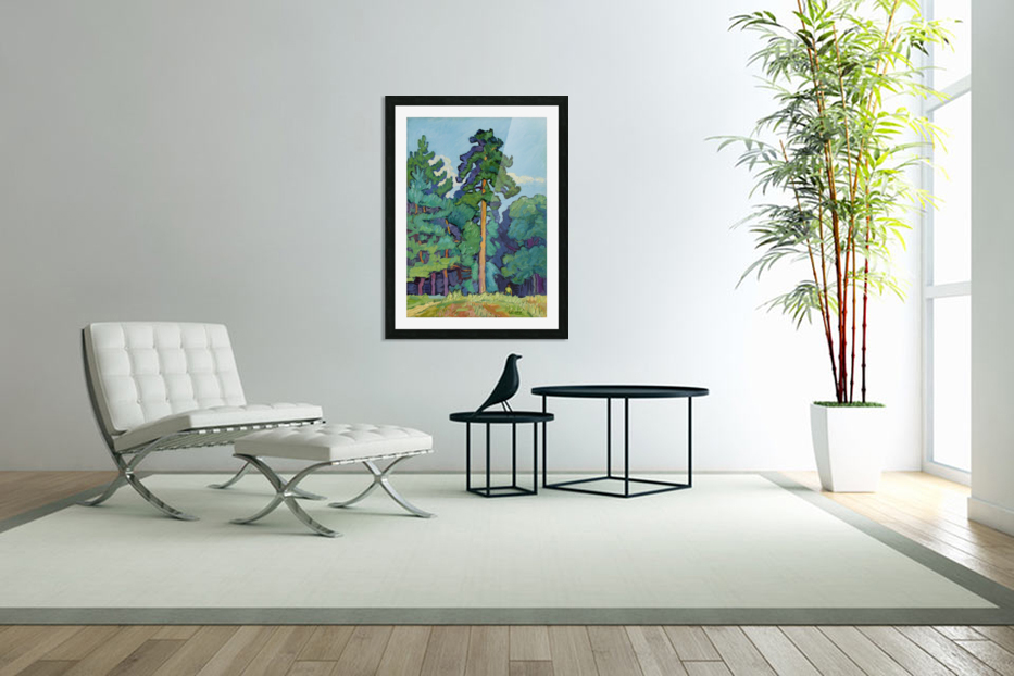 Edge of the Forest in Custom Picture Frame
