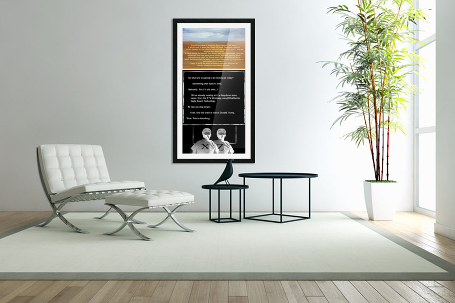 NonExistence in Custom Picture Frame