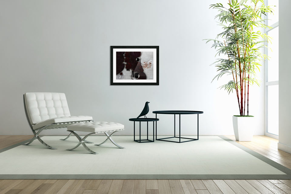 The Meditative Emotion in Custom Picture Frame