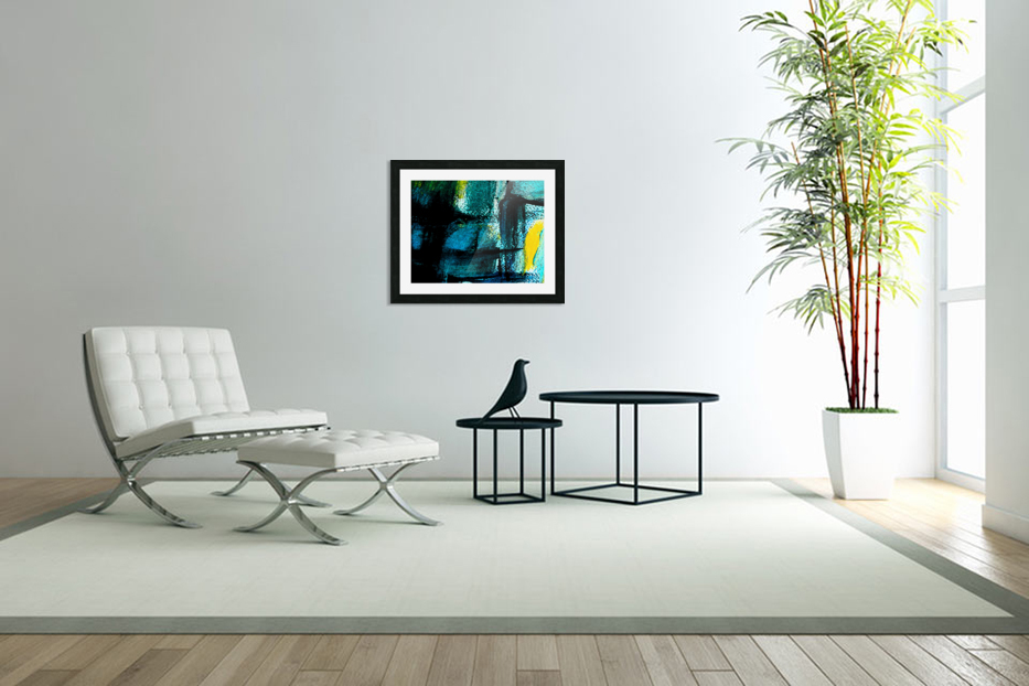 Abstract emotion  in Custom Picture Frame