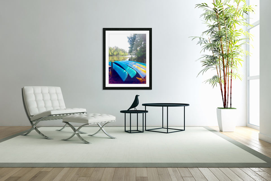 Lake Life in Custom Picture Frame