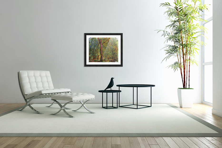 The Willow in Custom Picture Frame
