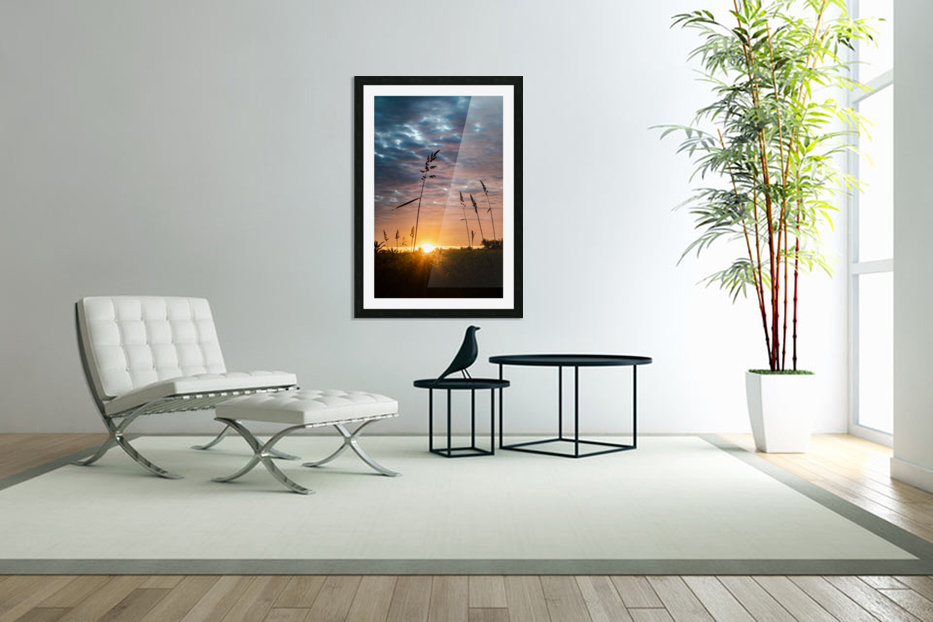 First Light in Custom Picture Frame
