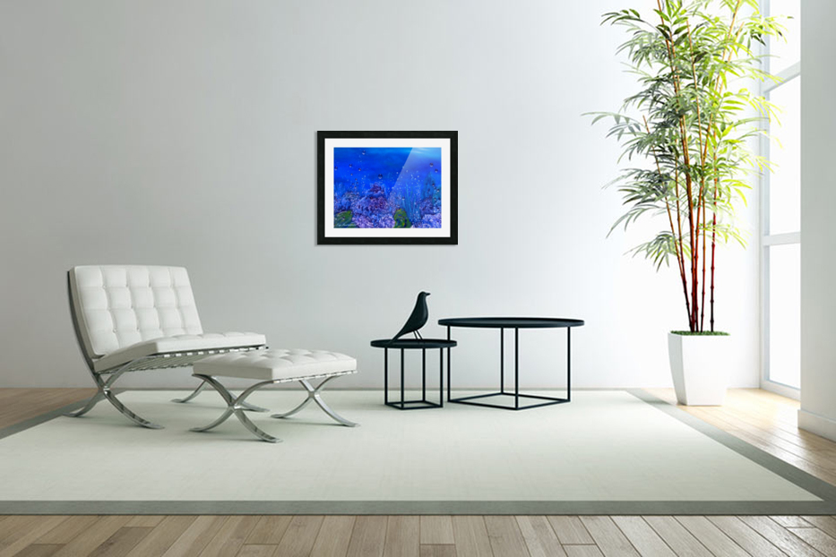 Coral Reef in Custom Picture Frame