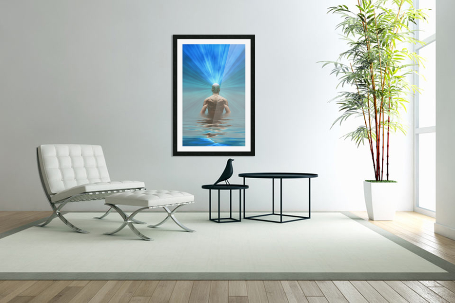 Power of Mind in Custom Picture Frame