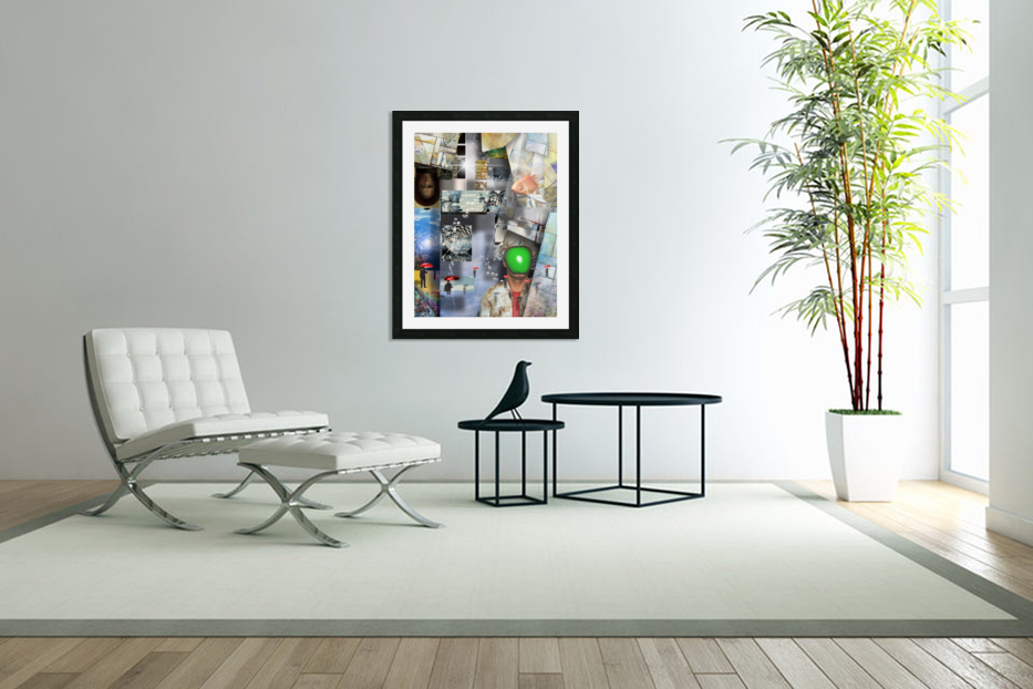 Abstraction in Custom Picture Frame