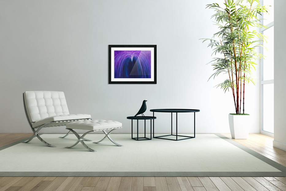 NEUTRALITY in Custom Picture Frame