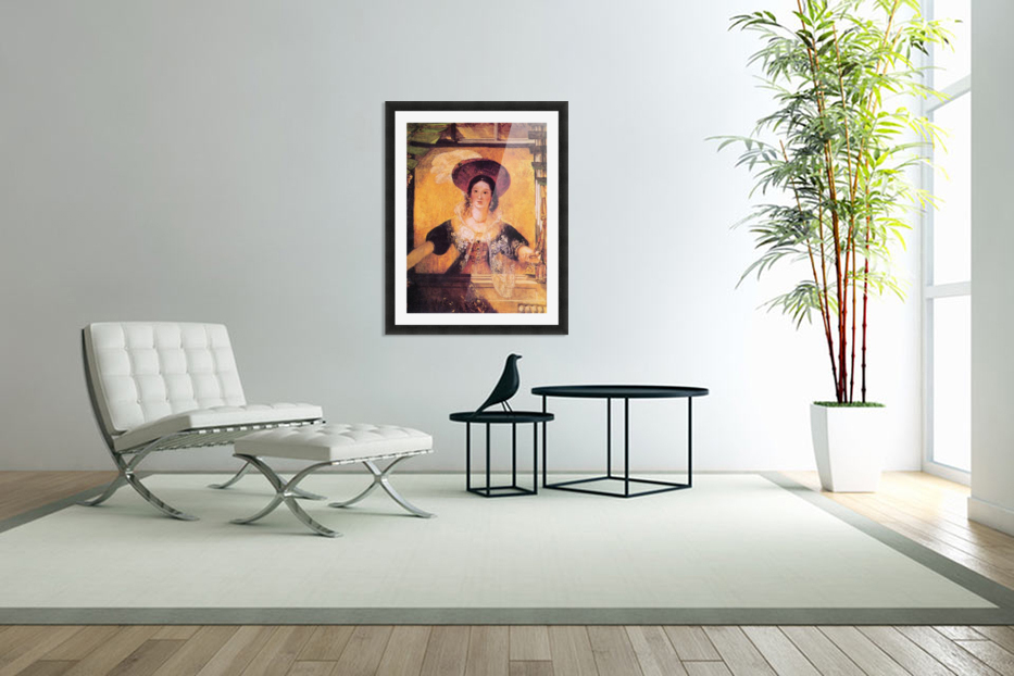 Jessica by Joseph Mallord Turner in Custom Picture Frame