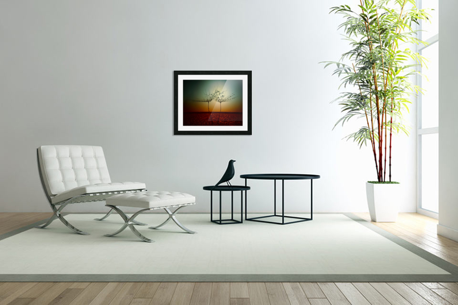 Fire and water in Custom Picture Frame