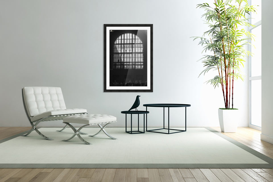 Toronto Union Station in Custom Picture Frame