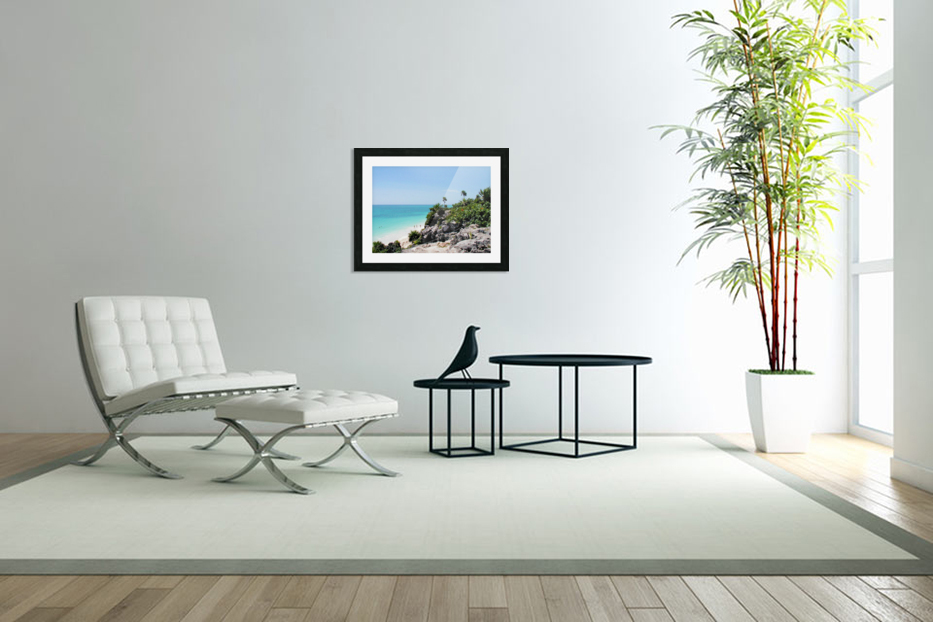 Tropical10 in Custom Picture Frame