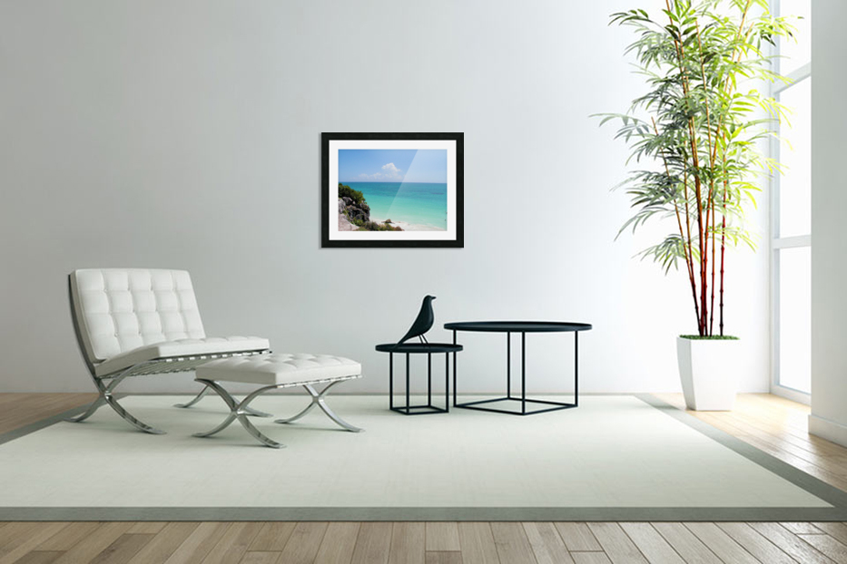 Tropical8 in Custom Picture Frame