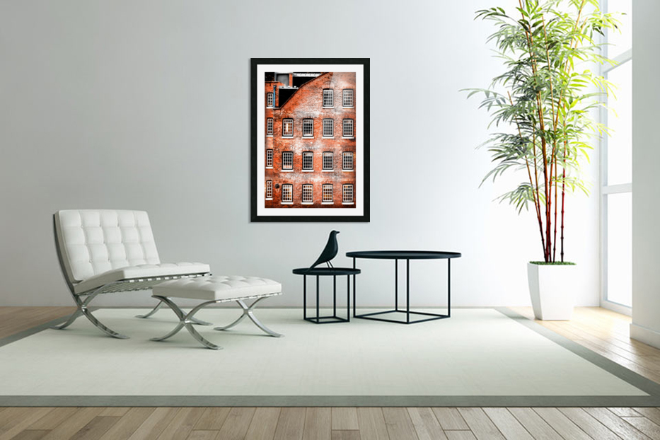 Squares in Custom Picture Frame