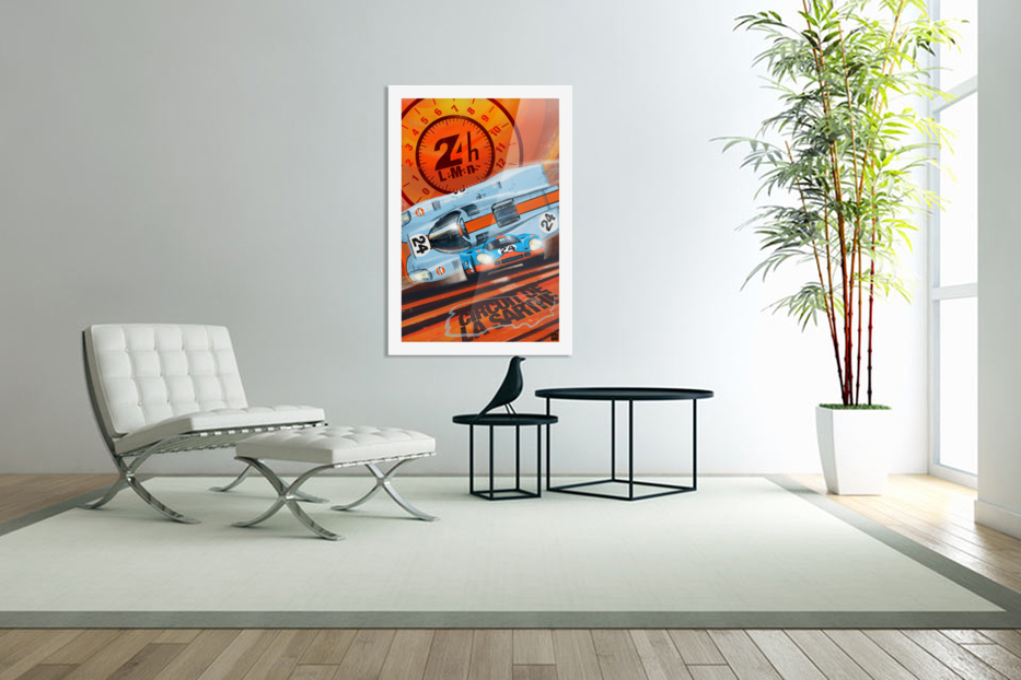 leMans in Custom Picture Frame