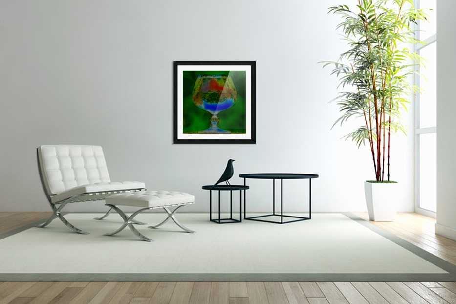 REFRACTION in Custom Picture Frame