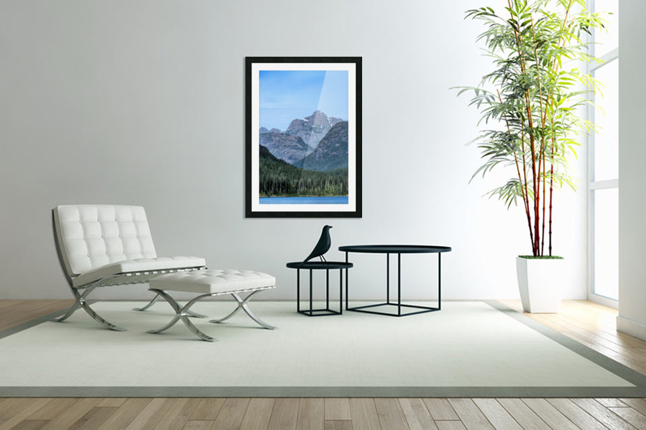 Peaks of Strathcona park in Custom Picture Frame
