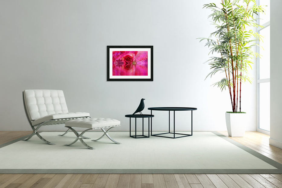 Beautiful colourful flower blossom flower background design floral home decor decoration  in Custom Picture Frame