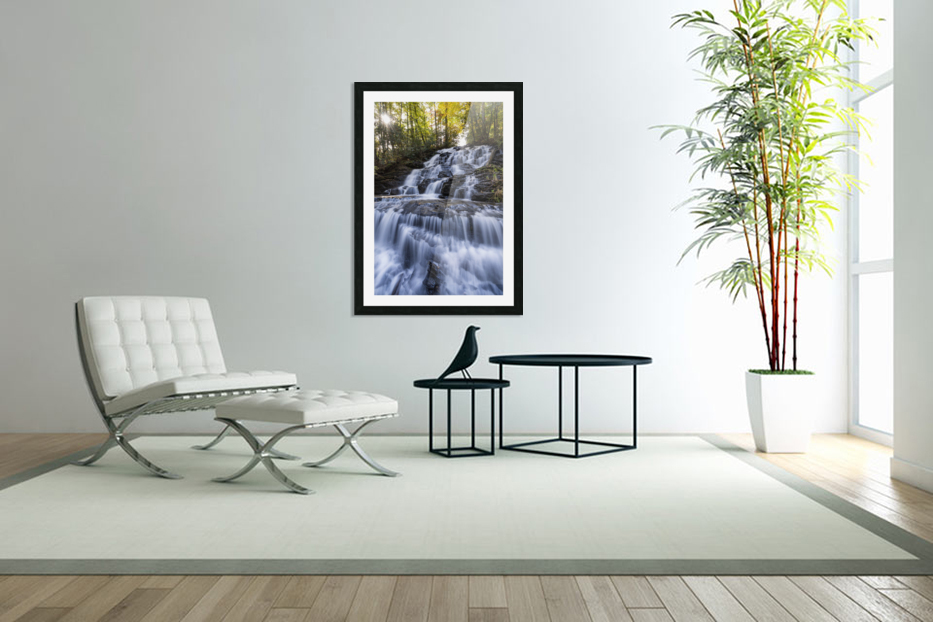 Trahlyta Waterfall in Custom Picture Frame