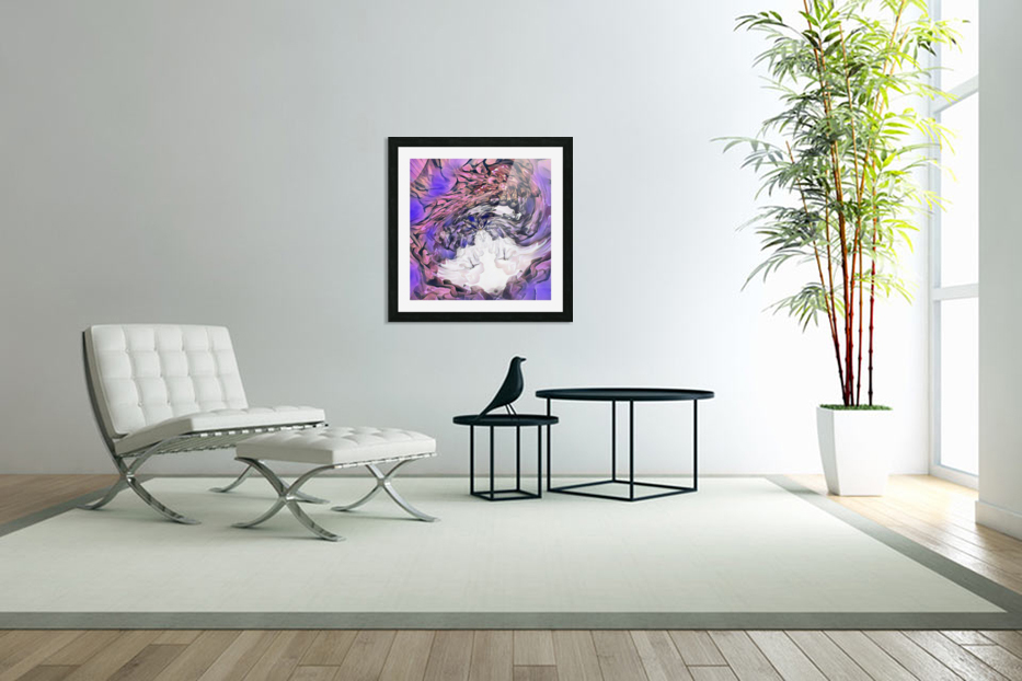 Color cloud in Custom Picture Frame