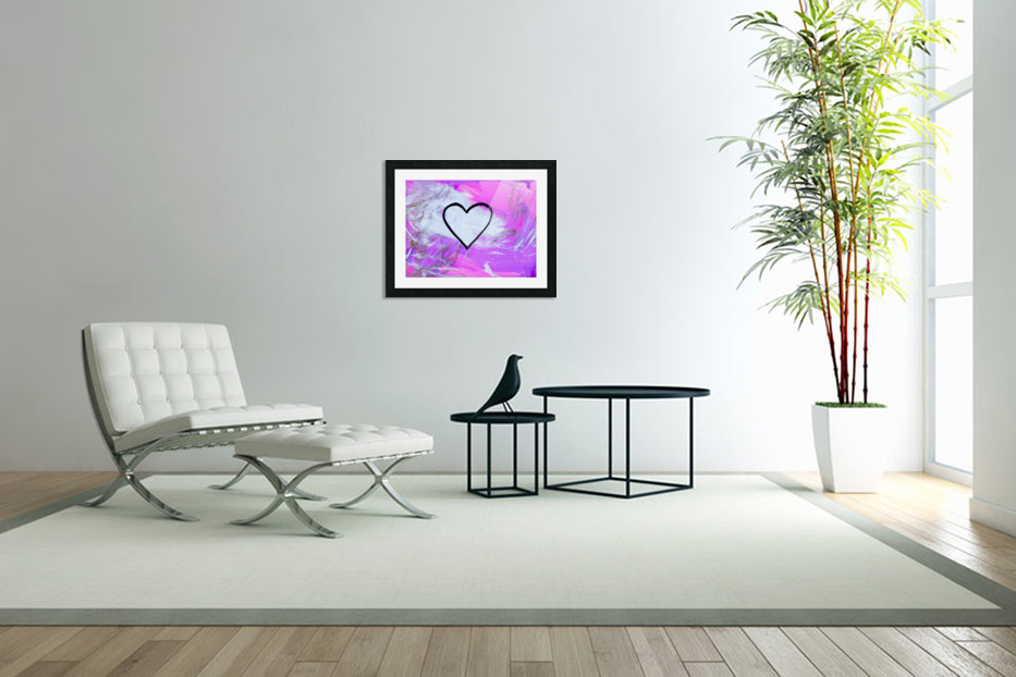 Love is a Feeling. Jessica B in Custom Picture Frame
