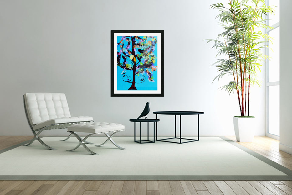 Free Spirit Tree. Molly H in Custom Picture Frame