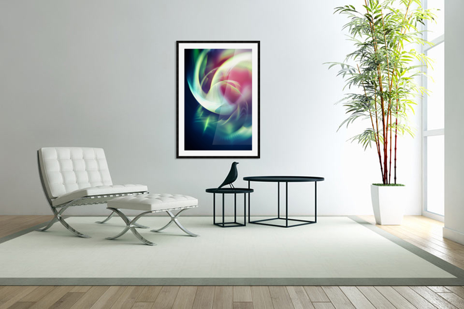 Abstract Art XIII in Custom Picture Frame