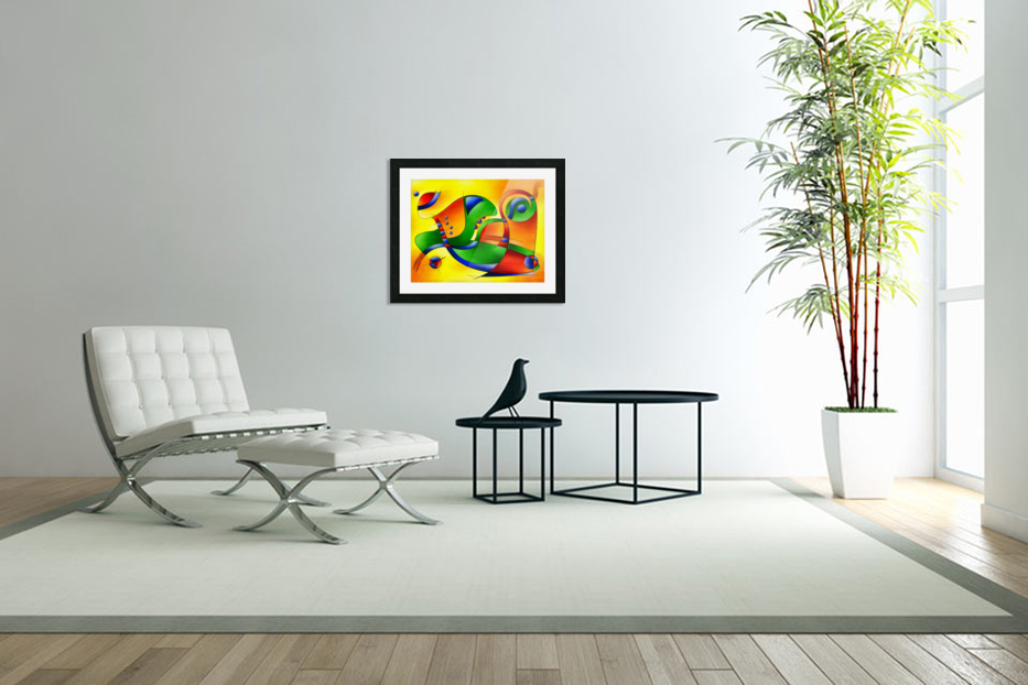 Antaressa - colourful world in Custom Picture Frame