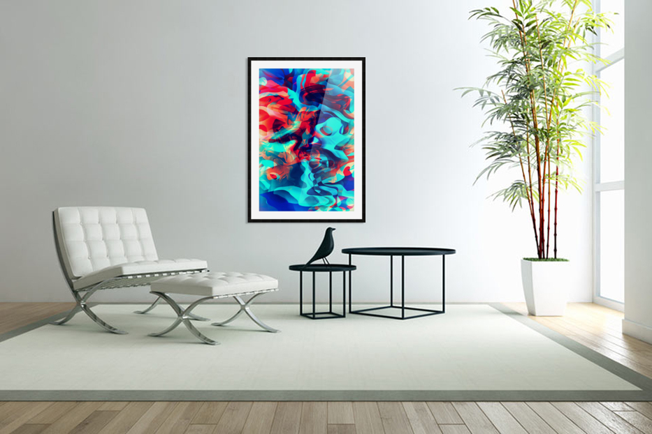 VIVID Abstraction II in Custom Picture Frame