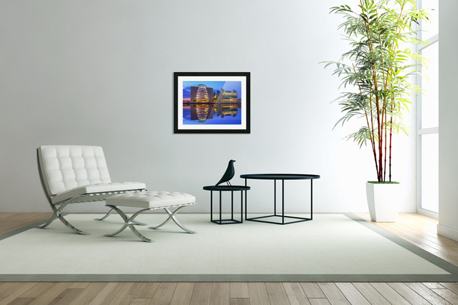 D 249 Convention Centre in Custom Picture Frame