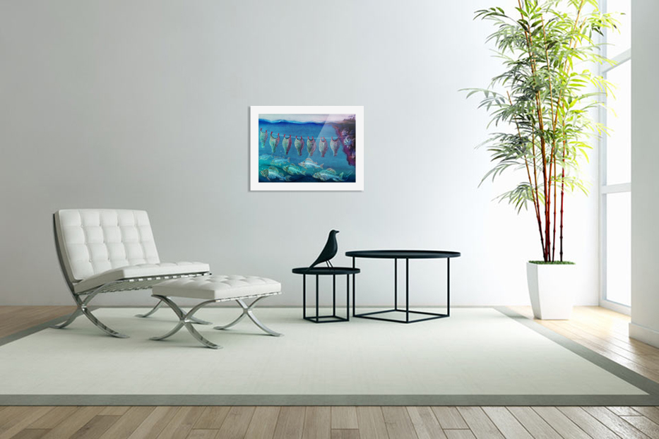 Fish cleaning by Krzysztof Grzondziel in Custom Picture Frame