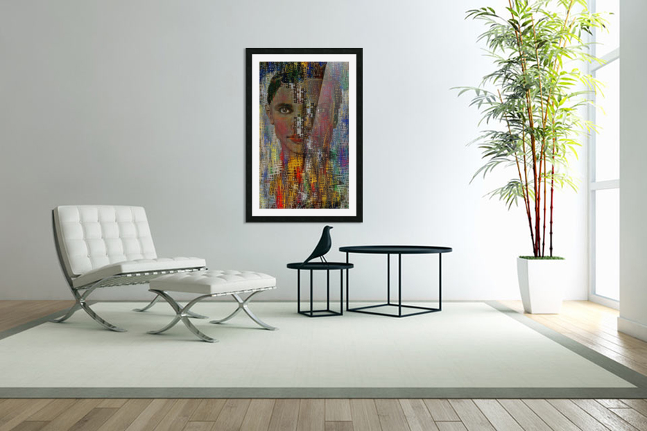 Man and Woman in Custom Picture Frame