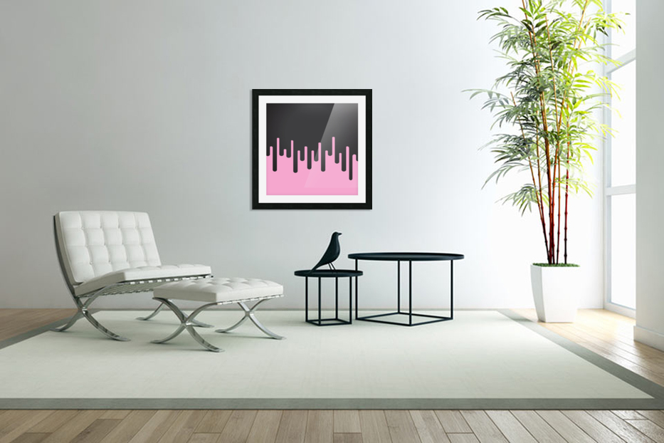Candy Melting Tone in Custom Picture Frame