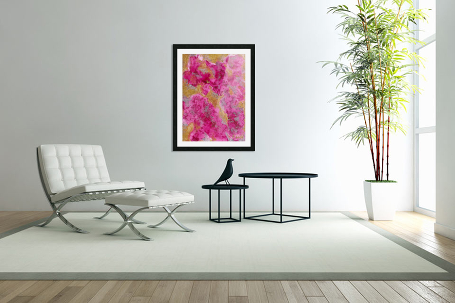 pink in Custom Picture Frame