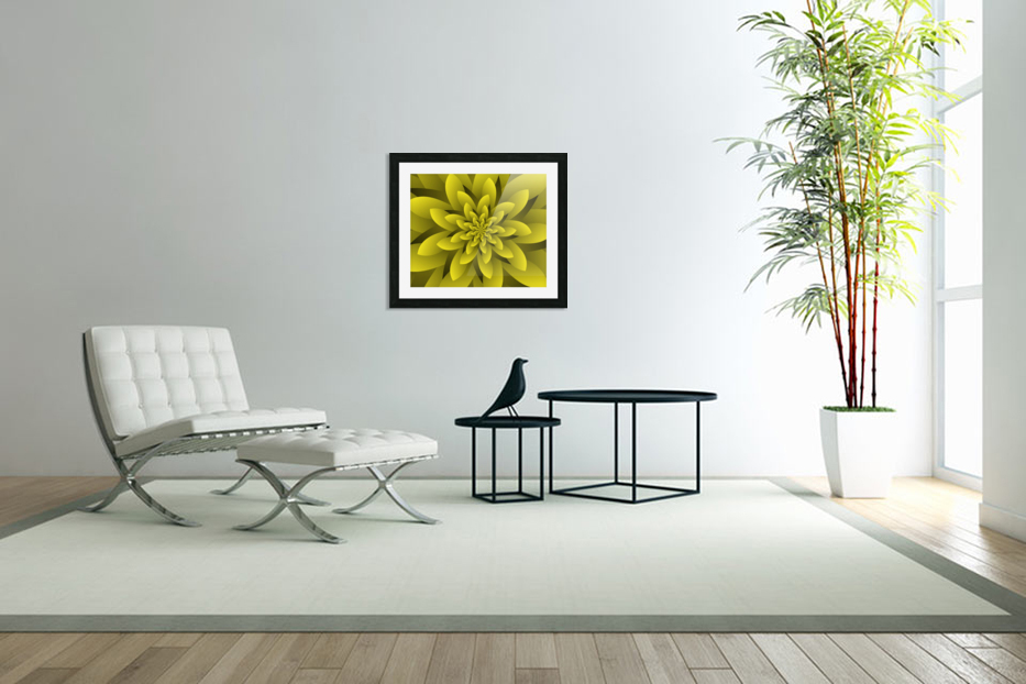 Spring Floral in Custom Picture Frame