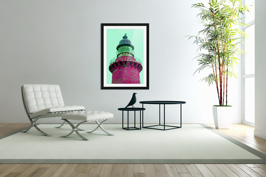 Lighthouse in Custom Picture Frame