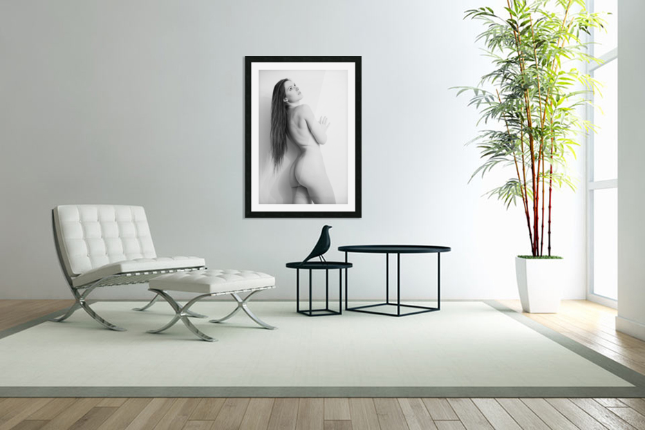 art_nude 31 in Custom Picture Frame