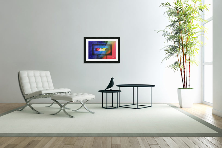 WINDOW OF PERCEPTION in Custom Picture Frame