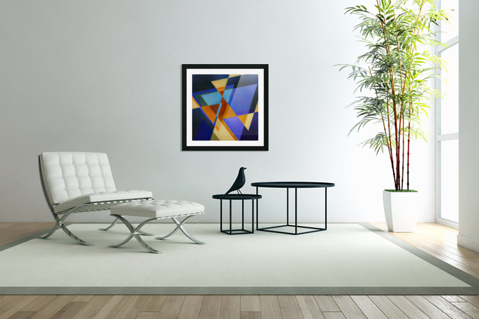 A Flight of Arrows in Custom Picture Frame