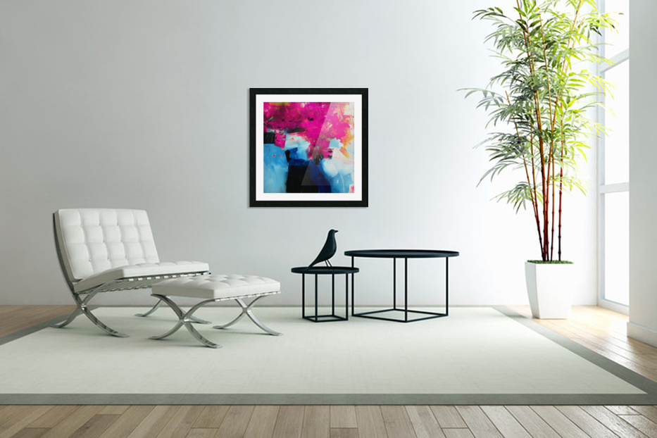 Abstract 21 in Custom Picture Frame