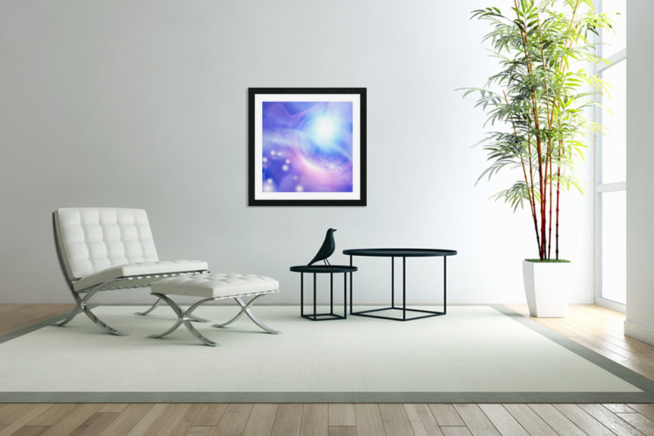 Galaxies in Custom Picture Frame