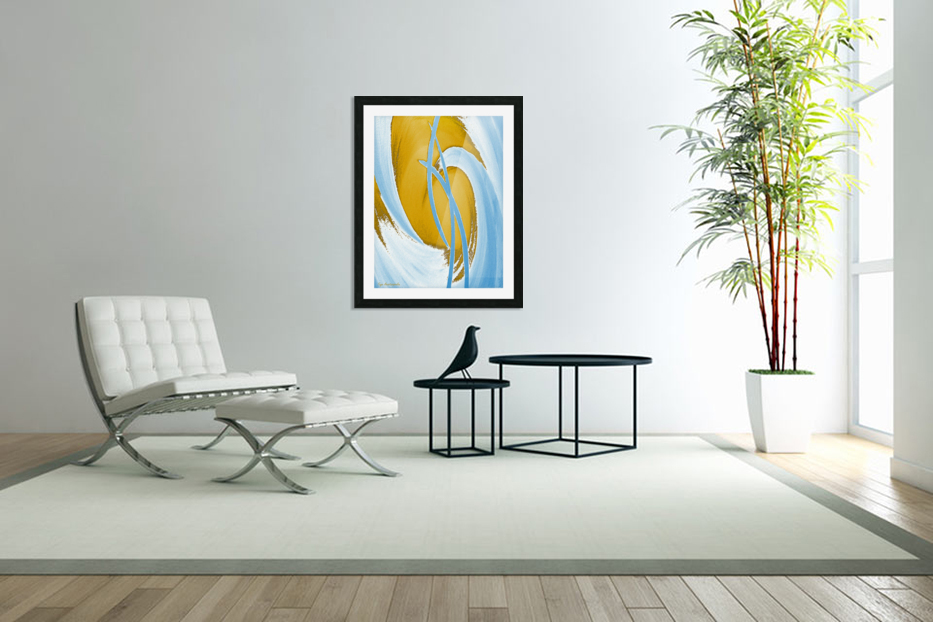 Energy Flow in Custom Picture Frame