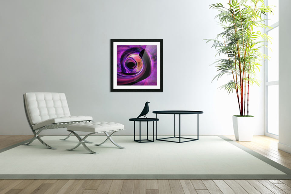 Abstract rendered artwork 3 in Custom Picture Frame