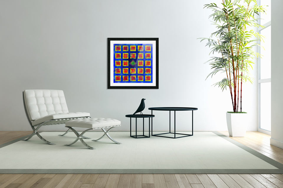 Verhomera - abstract cube worlds in Custom Picture Frame