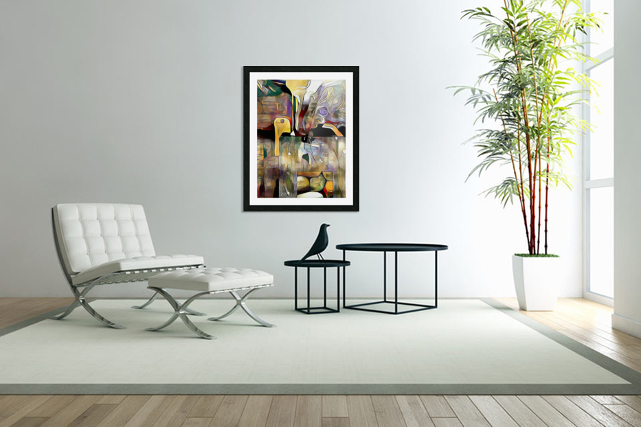 Modern Abstract in Custom Picture Frame