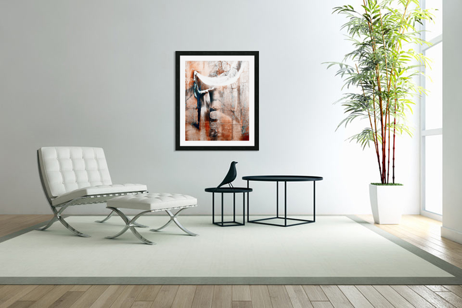 Dancer in the forest in Custom Picture Frame
