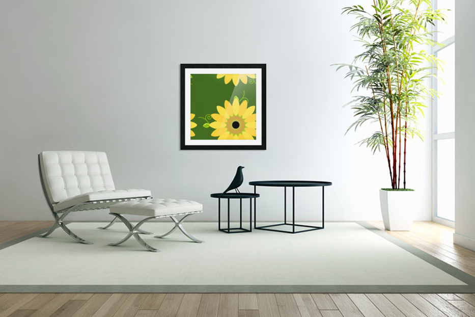 Sunflower (59)_1559876653.1233 in Custom Picture Frame