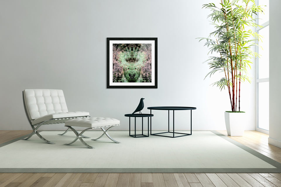 The Child of Green in Custom Picture Frame